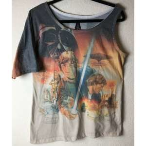 STAR WARS Asymmetrical One Sleeve Shirt Large